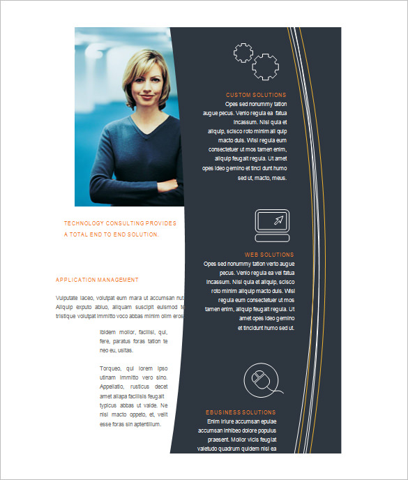 free microsoft word brochure templates microsoft brochure template