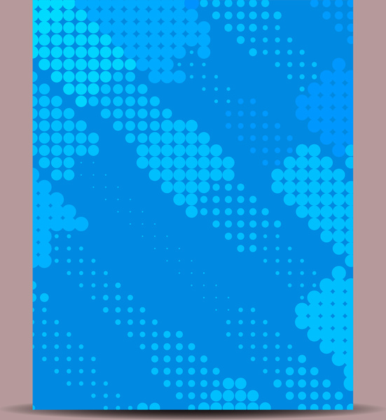 Abstract Flyer Background Free Vector In Encapsulated Postscript