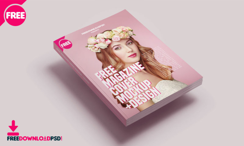 75+ Free PSD Magazine, Book, Cover & Brochure Mock ups