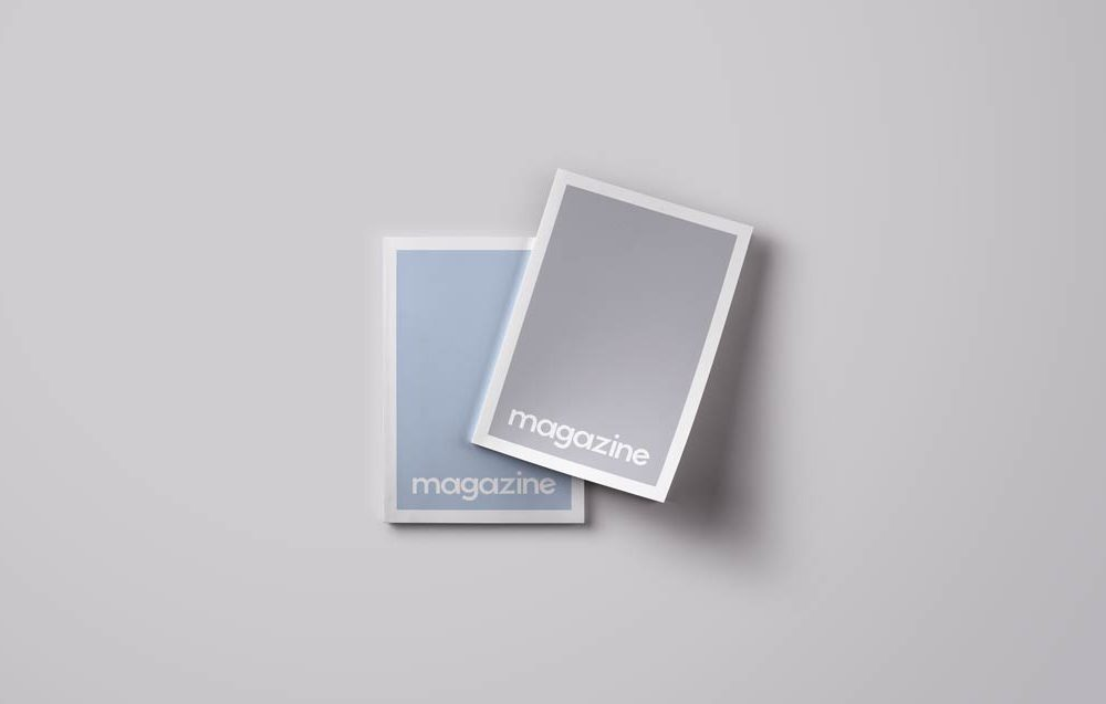 Magazine Cover Mockups | MockupWorld