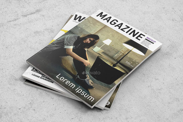 50+ Best Free Magazine and Book Cover PSD Mockup Templates 2018