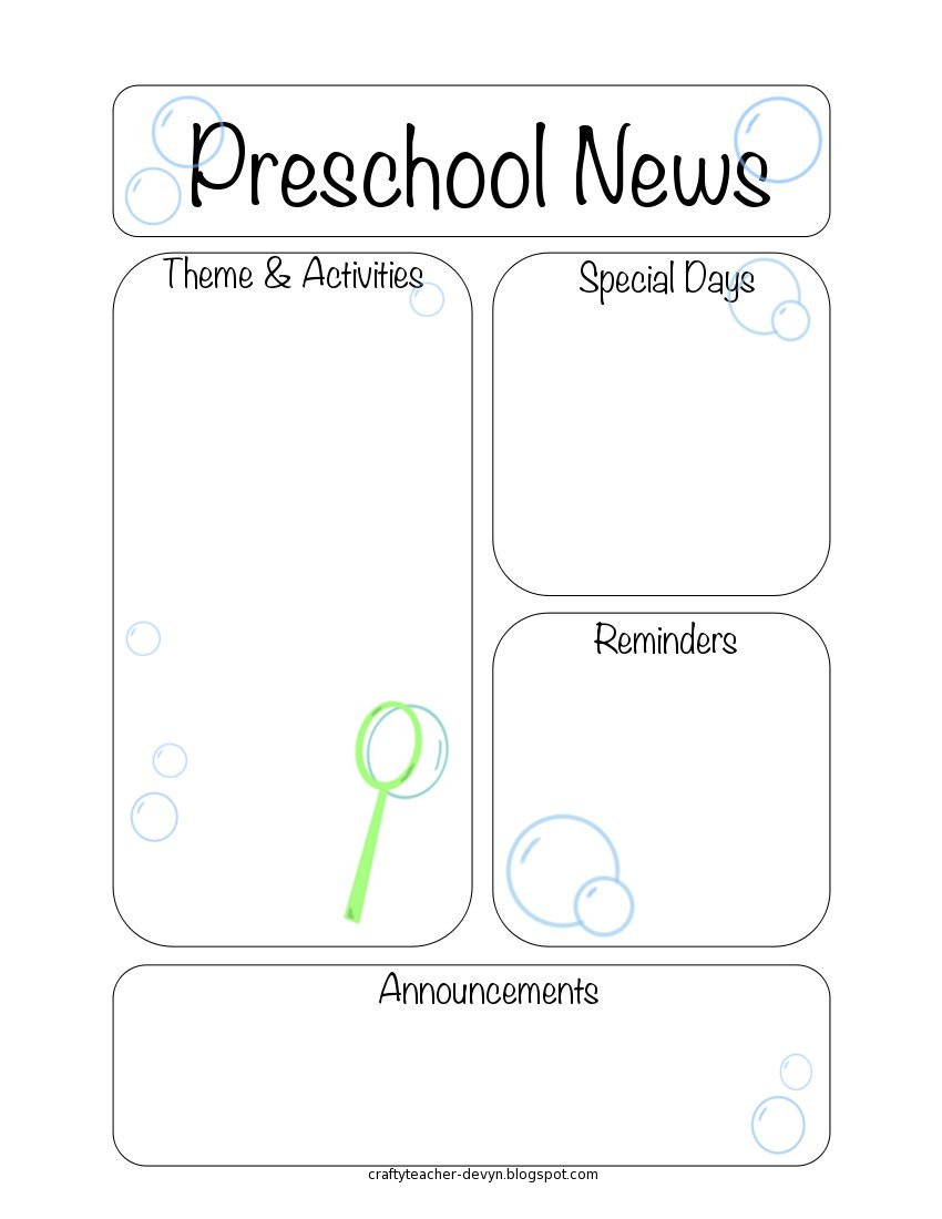 Here Are The Printable Newsletter Templates Leave A Comment If