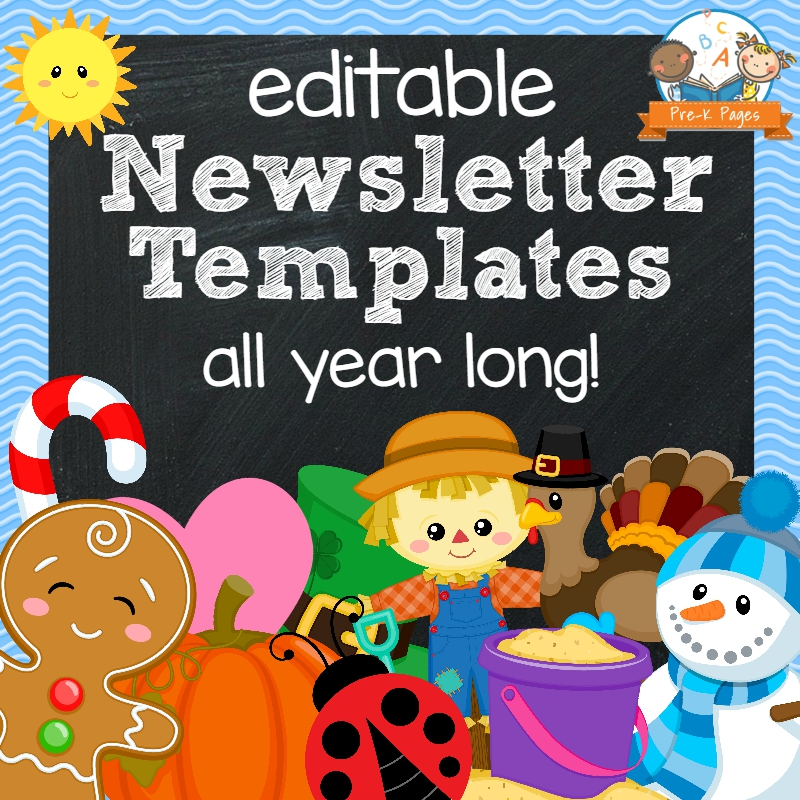 Classroom Newsletters   Pre K Pages