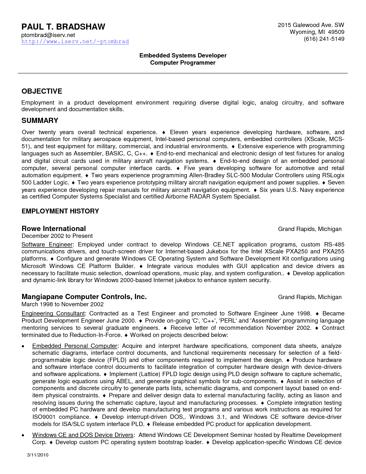 Generic resume template good objectives job objective samples