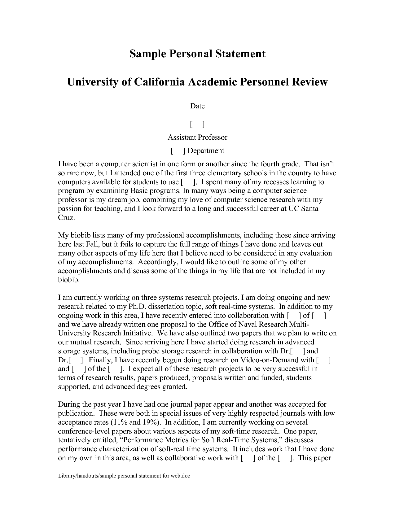 Personal statement for grad school   Alerion Writing Service
