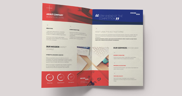 Brochure template psd kasare. Annafora. Co.