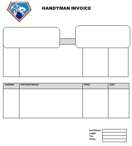 6 Handyman Invoice Template   Free Sample, Example Format Download