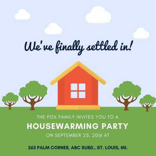 21+ Housewarming Invitation Templates   PSD, AI | Free & Premium
