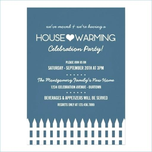 Birthday And Party Invitation House Warming