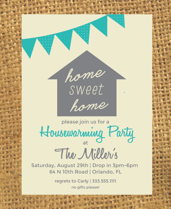 Housewarming Party Invitations Template | cimvitation