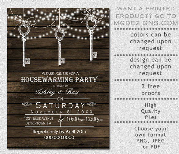 Housewarming Party Invitations Templates Emmamcintyrephotography Com