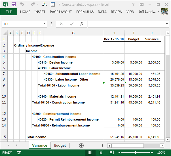 how to create an income statement in excel   Mini.mfagency.co