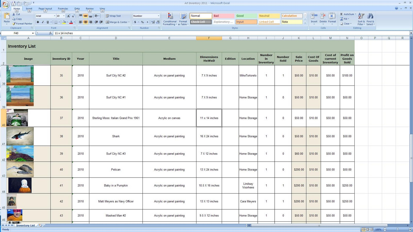 Inventory Management Templates Excel Free Inventory Tracking