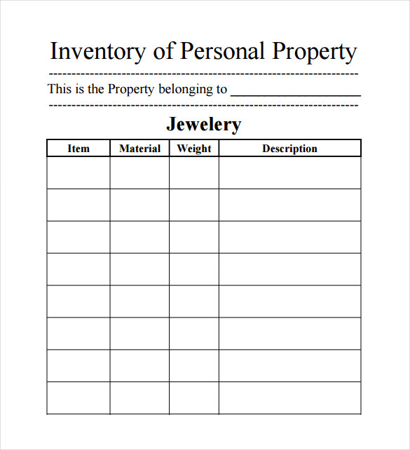15+ Sample Inventory Spreadsheet Templates  Free Sample, Example