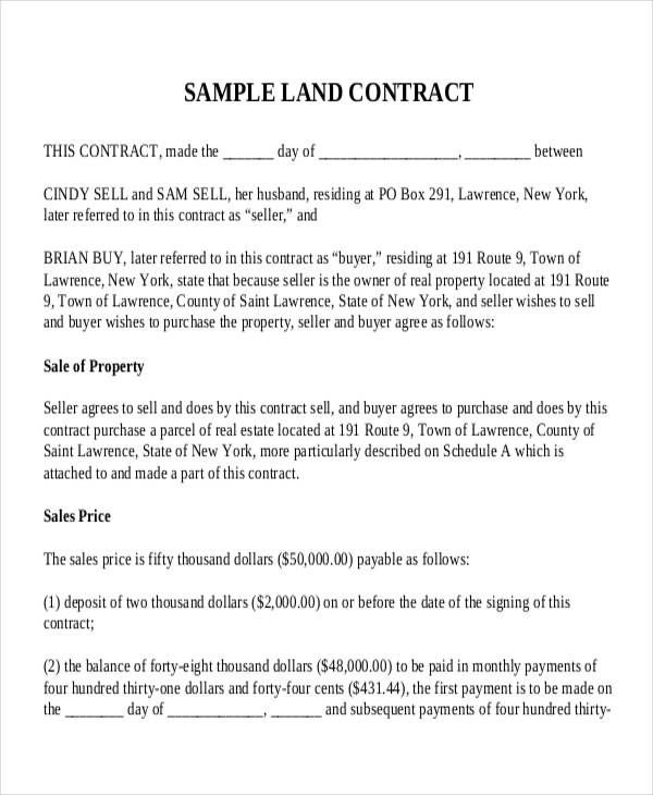 27 Images of Land Purchase Agreement Template | leseriail.com