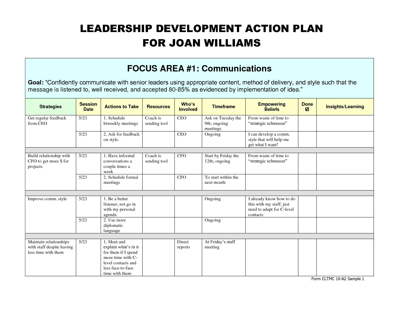 27 Images of Leadership Development Plan Template | dotcomstand.com