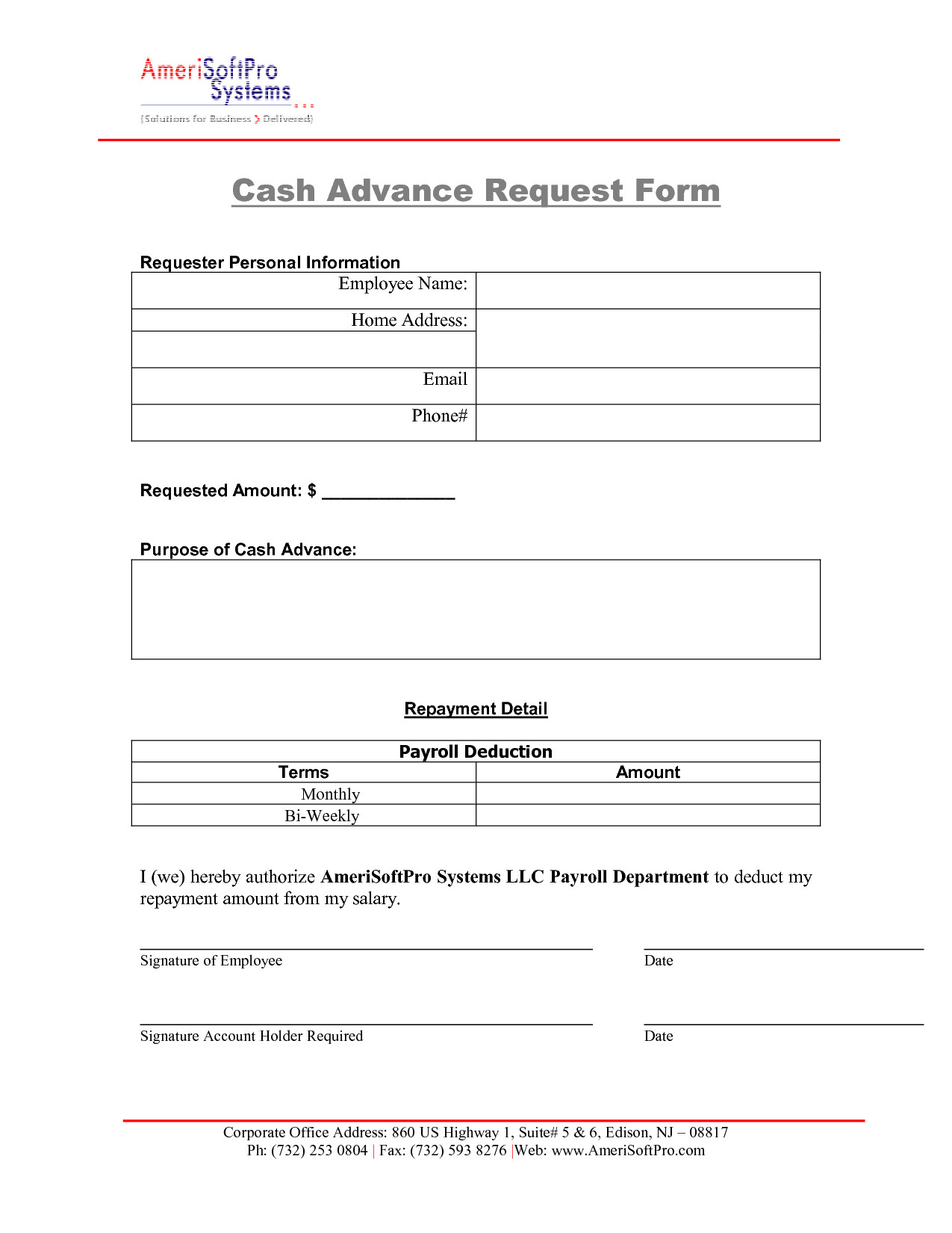 Cash Advance Form Format 0 – elsik blue cetane