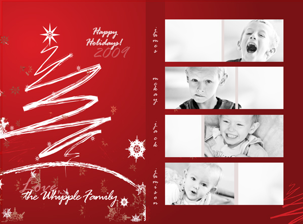 Christmas Photo Card Templates Photoshop (8) – Best Templates Ideas