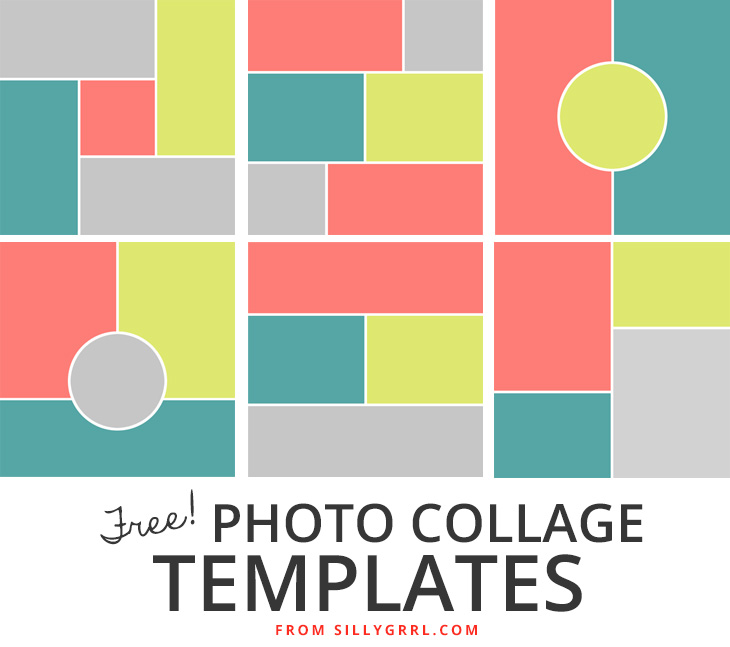 Photoshop Collage Templates PSD PSDS ~ Card Templates ~ Creative