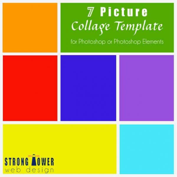 Collage Template Photoshop | Best Business Template