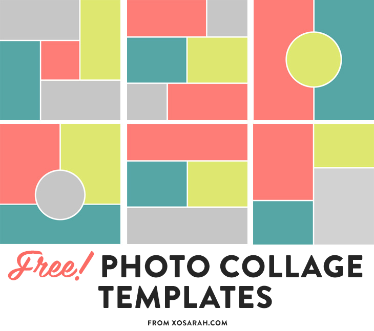 free collage templates free psd collage templates 15 simple