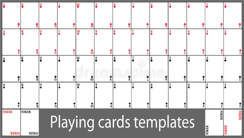Playing Card Templatenokiaaplicaciones.| nokiaaplicaciones.com