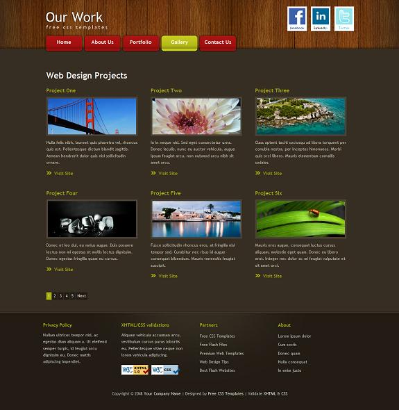 free portfolio website templates the best free portfolio website
