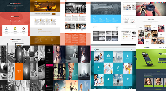 70+ Awesome Portfolio Website Templates   wpfreeware