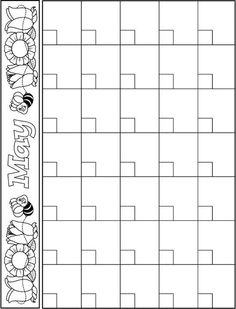 preschool calendar templates   Mini.mfagency.co