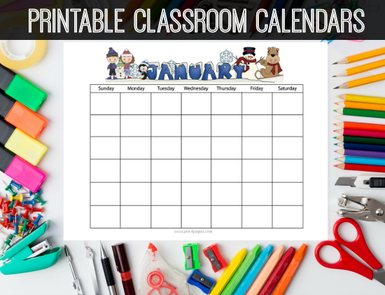 preschool calendar template   Mini.mfagency.co