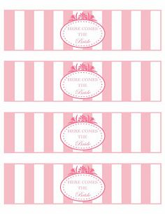free printable water bottle label template water bottle label