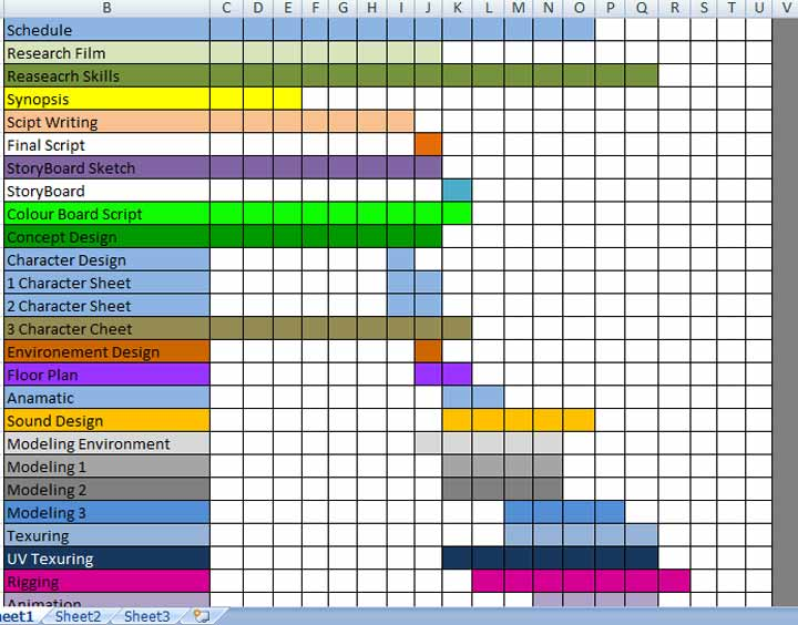 29+ Production Scheduling Templates   PDF, DOC, Excel | Free