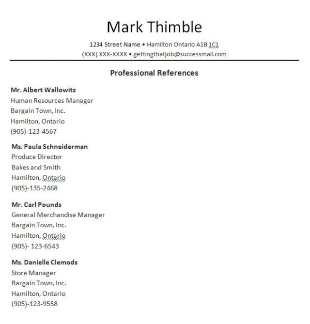 Reference list template word easy concept samplereference 1