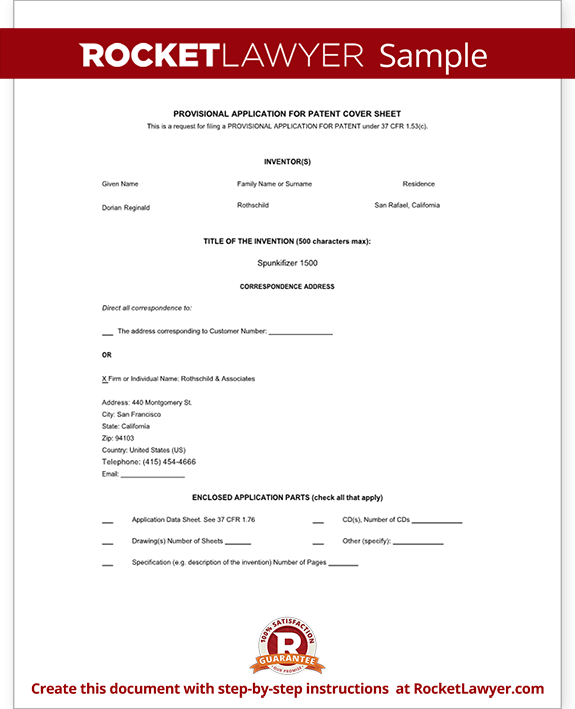 Resume Writing Template. Provisional Patent Template   Resume