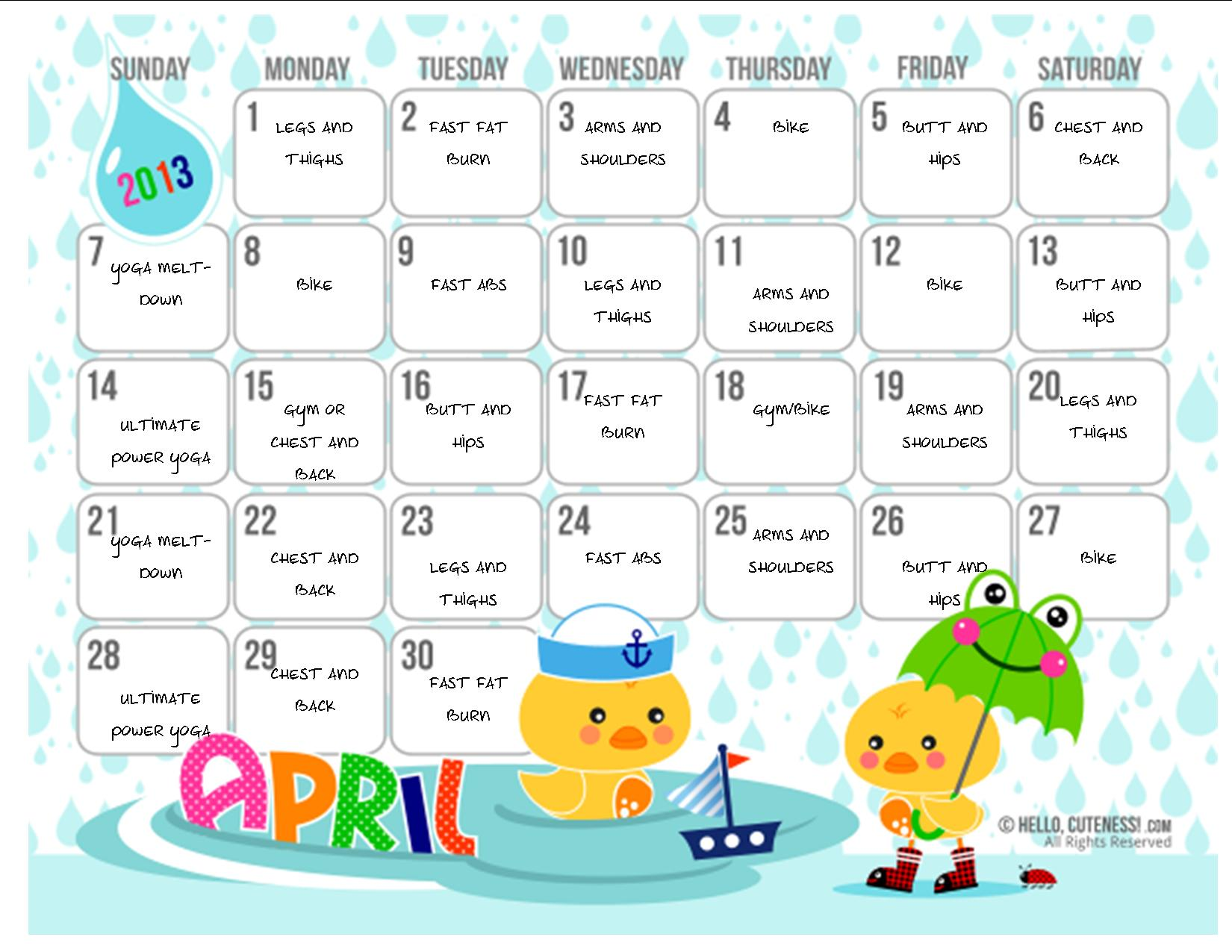 How to Customize Cute Calendars (with microsoft publisher