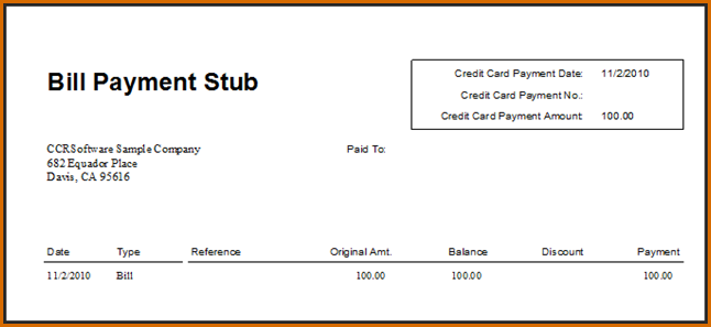 Awesome Pay Stub Template Pdf   Your template collection | Your