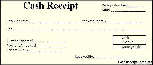 Receipt template doc ideal although blank for word documents in