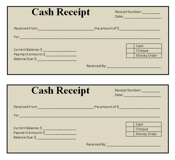 Receipt Template Doc Free Payment Receipt More From Business Free