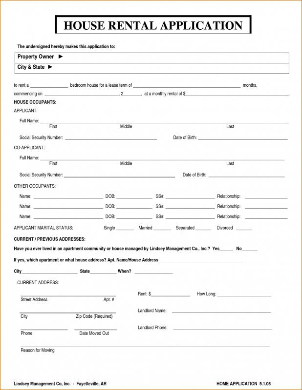 Application for house rental form 1 ideal yet – rocksglass.info