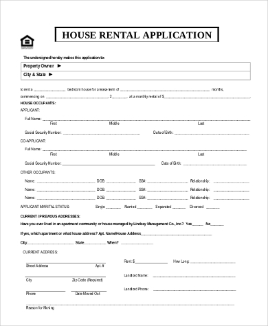 Unique Rental House Application | three blocks