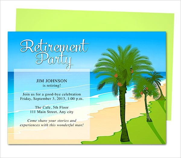 free retirement flyer templates   Ecza.solinf.co