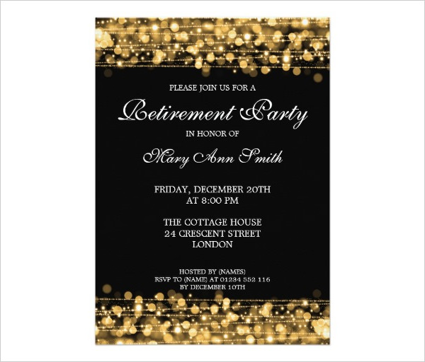 retirement party invitations templates free retirement flyer