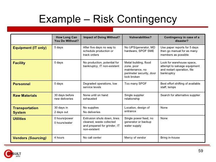 risk management plan example   Mini.mfagency.co