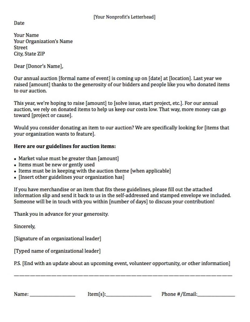11+ samples fundraising letters | resume type