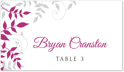 FREE DIY Printable Place Card Template and Tutorial | Pinterest