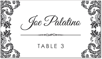 place cards template   Design Decoration