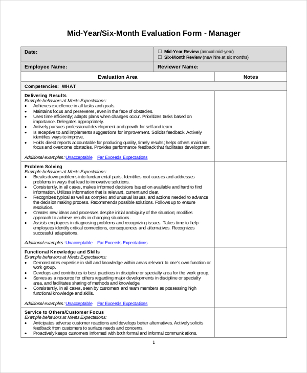 Sample Employee Performance Goals Examples on evaluation form, appraisal wording example, write up, appreciation letter, business perspective, write up template,