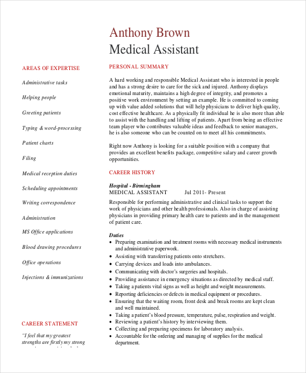 Senior Administrative Assistant Resume | Perfect Resume 2017