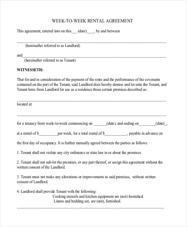 30 Images of Simple Equipment Rental Agreement Template