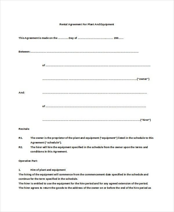 Basic Al Agreement Template